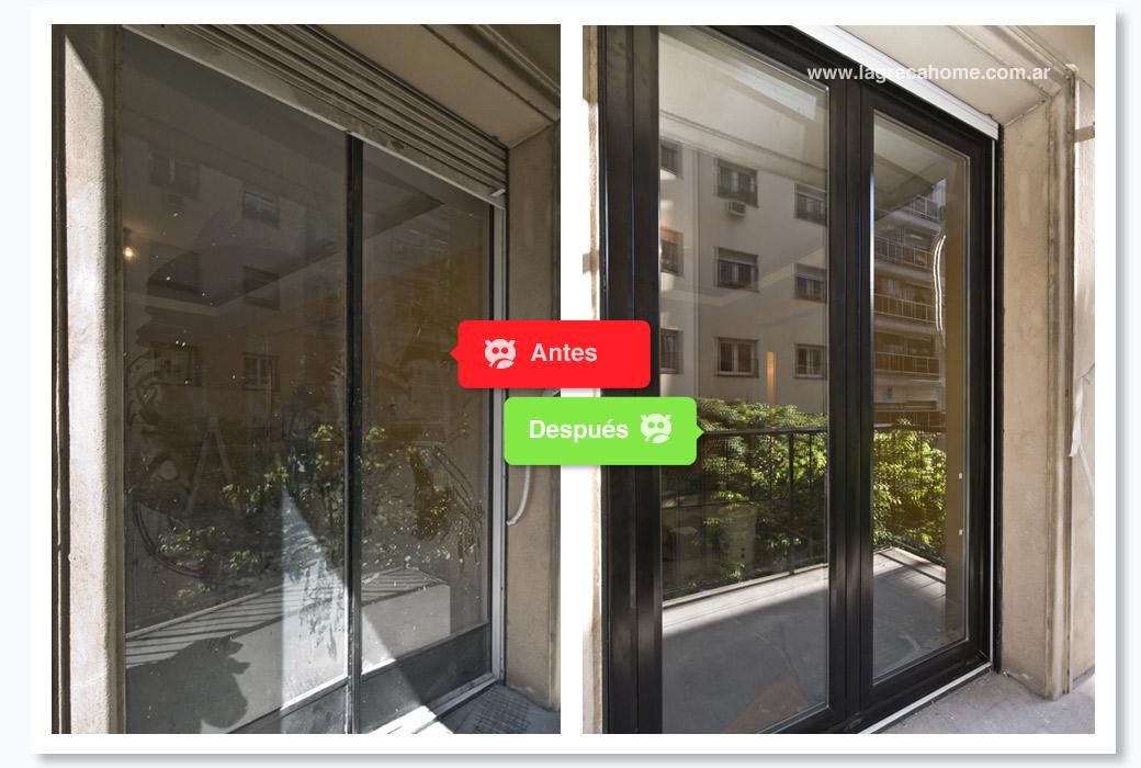 LGH / Renovación / Living1 / Vista exterior