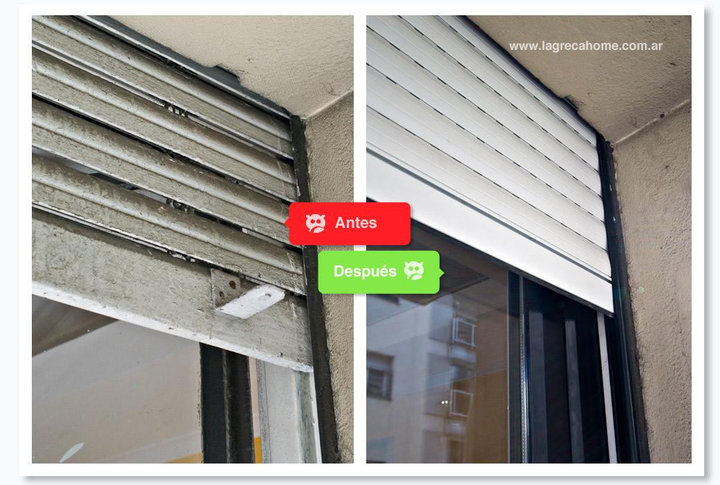 LGH / Recambio en ambientes / Persianas de aluminio