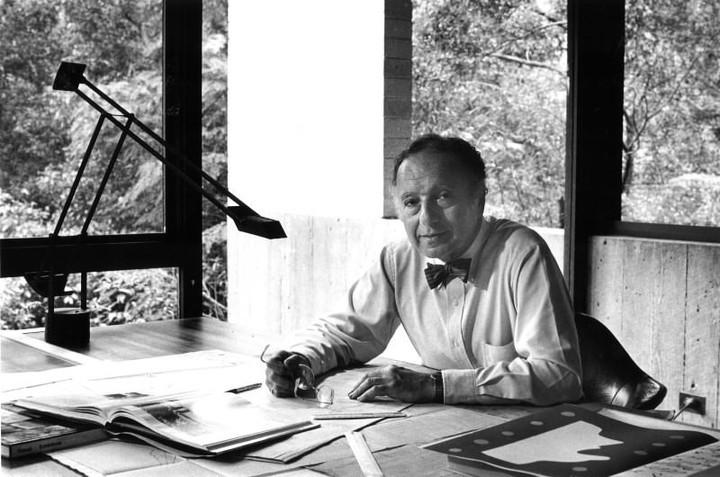 Maestro. Marcel Breuer se educó en la mítica Bauhaus de Dessau, Alemania.